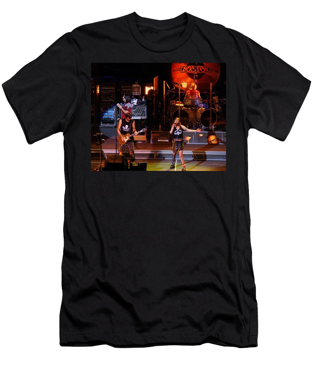 Boston Men's T-Shirt (Athletic Fit) featuring the photograph Boston #54 by Ben Upham
