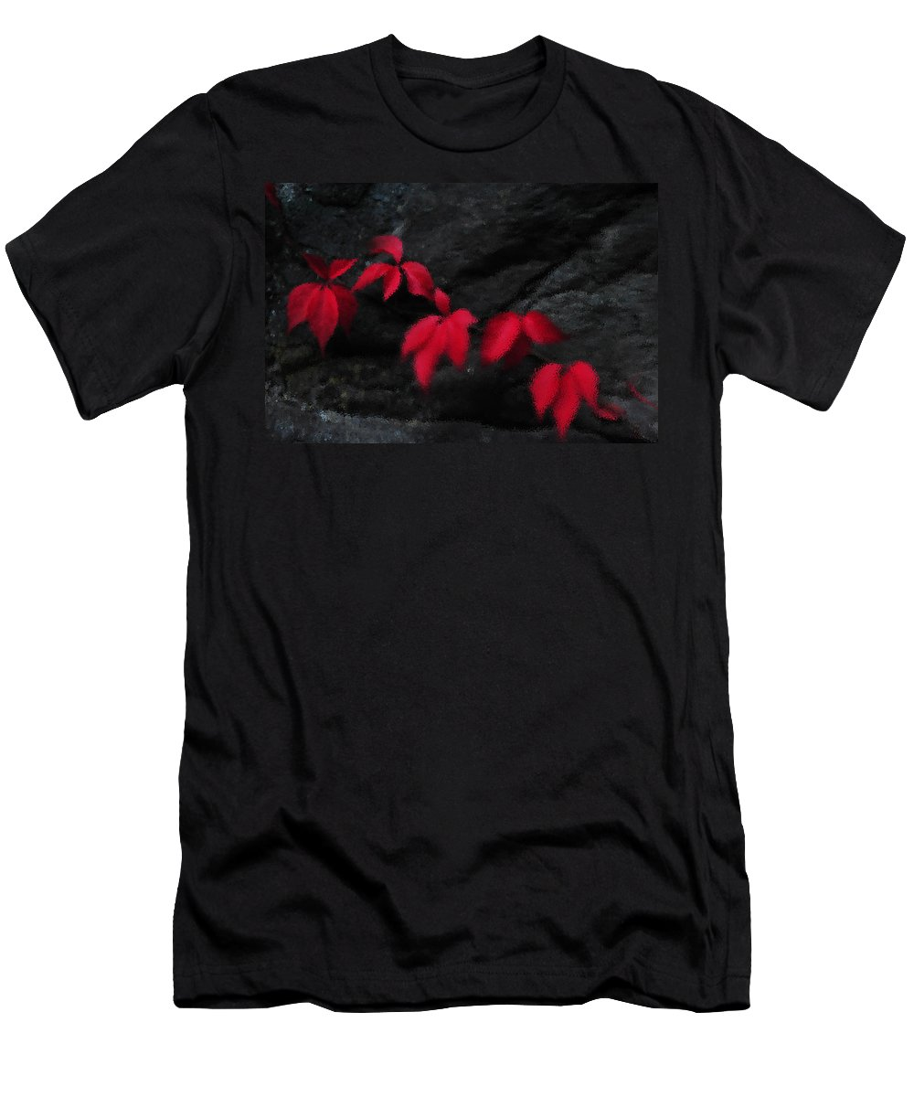 Abstract Men's T-Shirt (Athletic Fit) featuring the photograph Breeze by Randi Grace Nilsberg