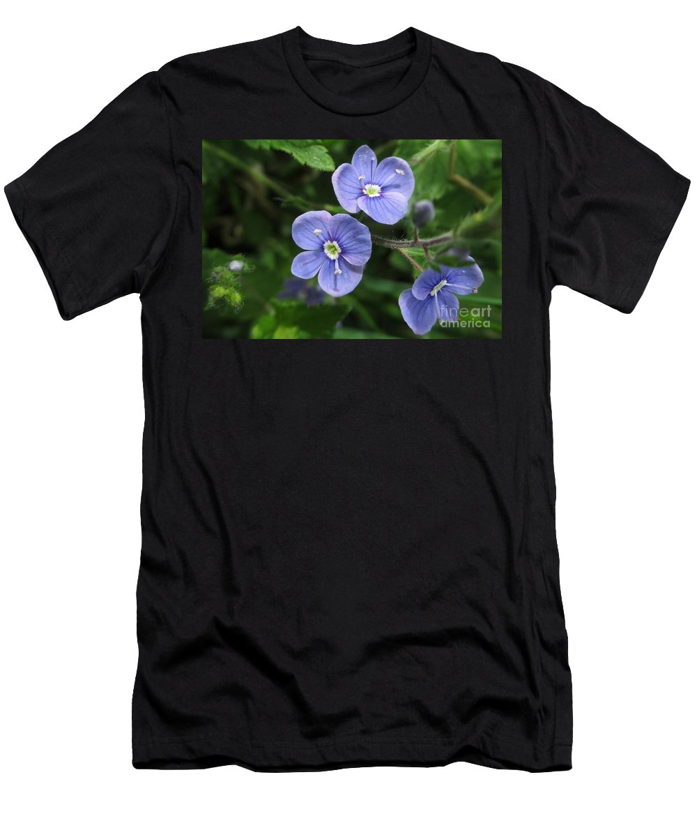Bright And Blue Men's T-Shirt (Athletic Fit) featuring the photograph Bright And Blue by Martin Howard