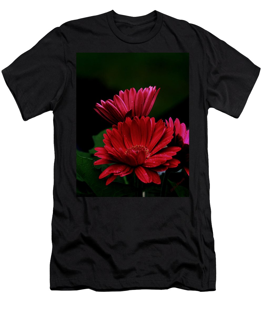 Flower Men's T-Shirt (Athletic Fit) featuring the photograph Broken Hearts by Jeanette C Landstrom