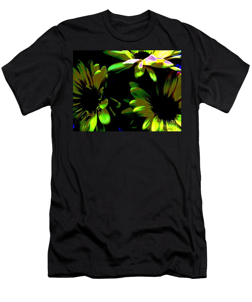 Art For The Wall...patzer Photography Men's T-Shirt (Athletic Fit) featuring the photograph Burst by Greg Patzer