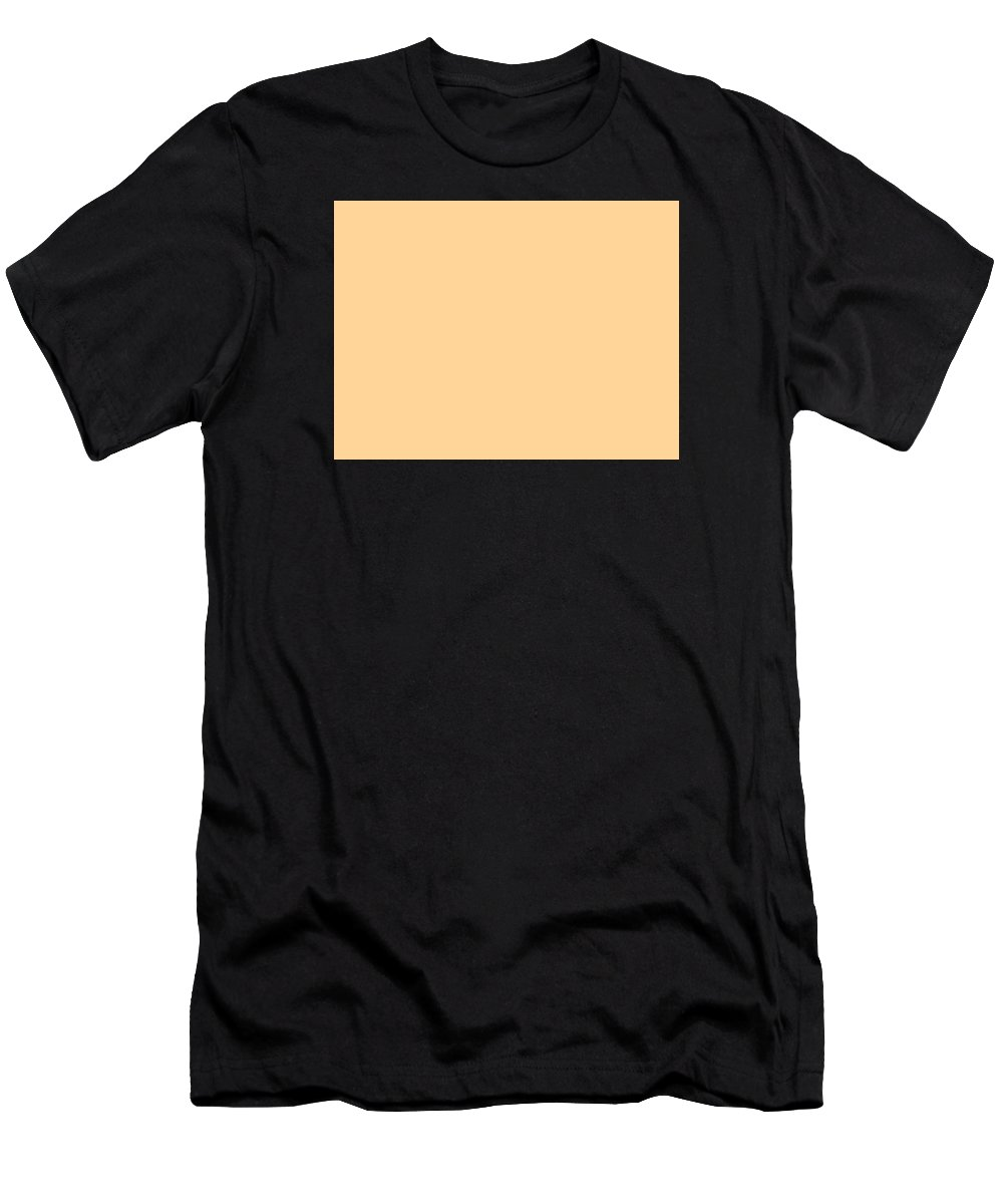 Abstract Men's T-Shirt (Athletic Fit) featuring the digital art C.1.255-213-153.4x3 by Gareth Lewis