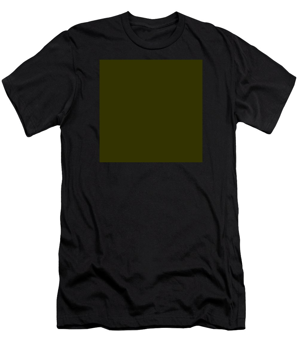 Abstract Men's T-Shirt (Athletic Fit) featuring the digital art C.1.51-50-0.7x7 by Gareth Lewis