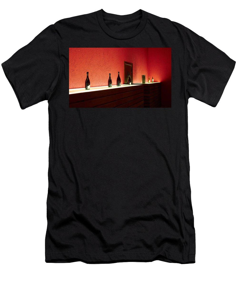 Francacorta Men's T-Shirt (Athletic Fit) featuring the photograph Ca Del Bosco Winery. Franciacorta Docg by Jouko Lehto