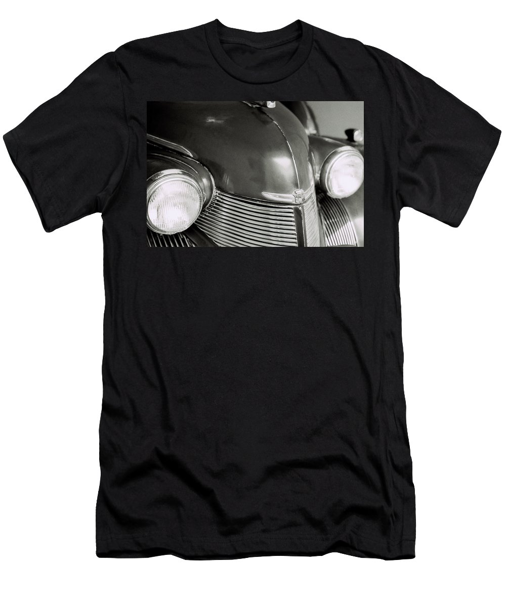 Cadillac Men's T-Shirt (Athletic Fit) featuring the photograph Cadillac by Shaun Higson