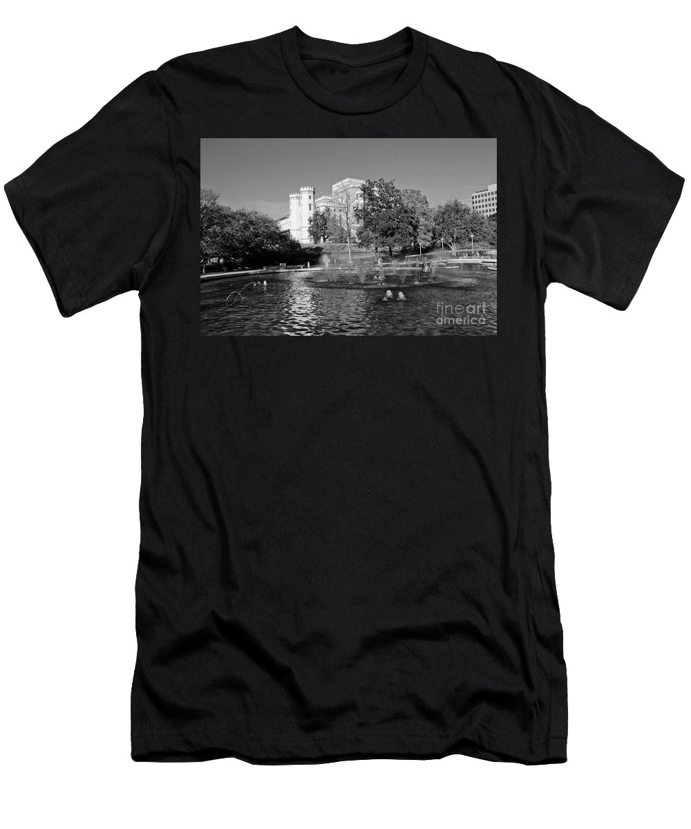 Capital Men's T-Shirt (Athletic Fit) featuring the photograph Capital by Scott Pellegrin