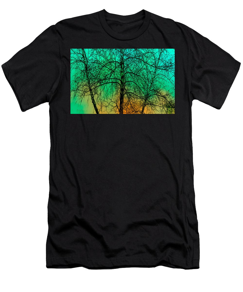 Tree Men's T-Shirt (Athletic Fit) featuring the photograph Change Of Seasons Number Tw0 by Bob Orsillo