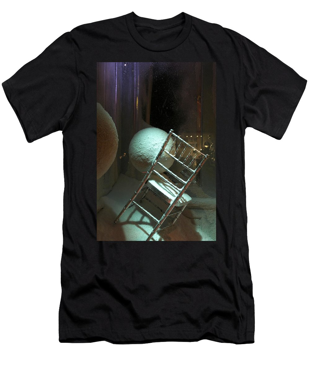 Abstract Art Men's T-Shirt (Athletic Fit) featuring the photograph Channeling Duchamp by Rosie McCobb