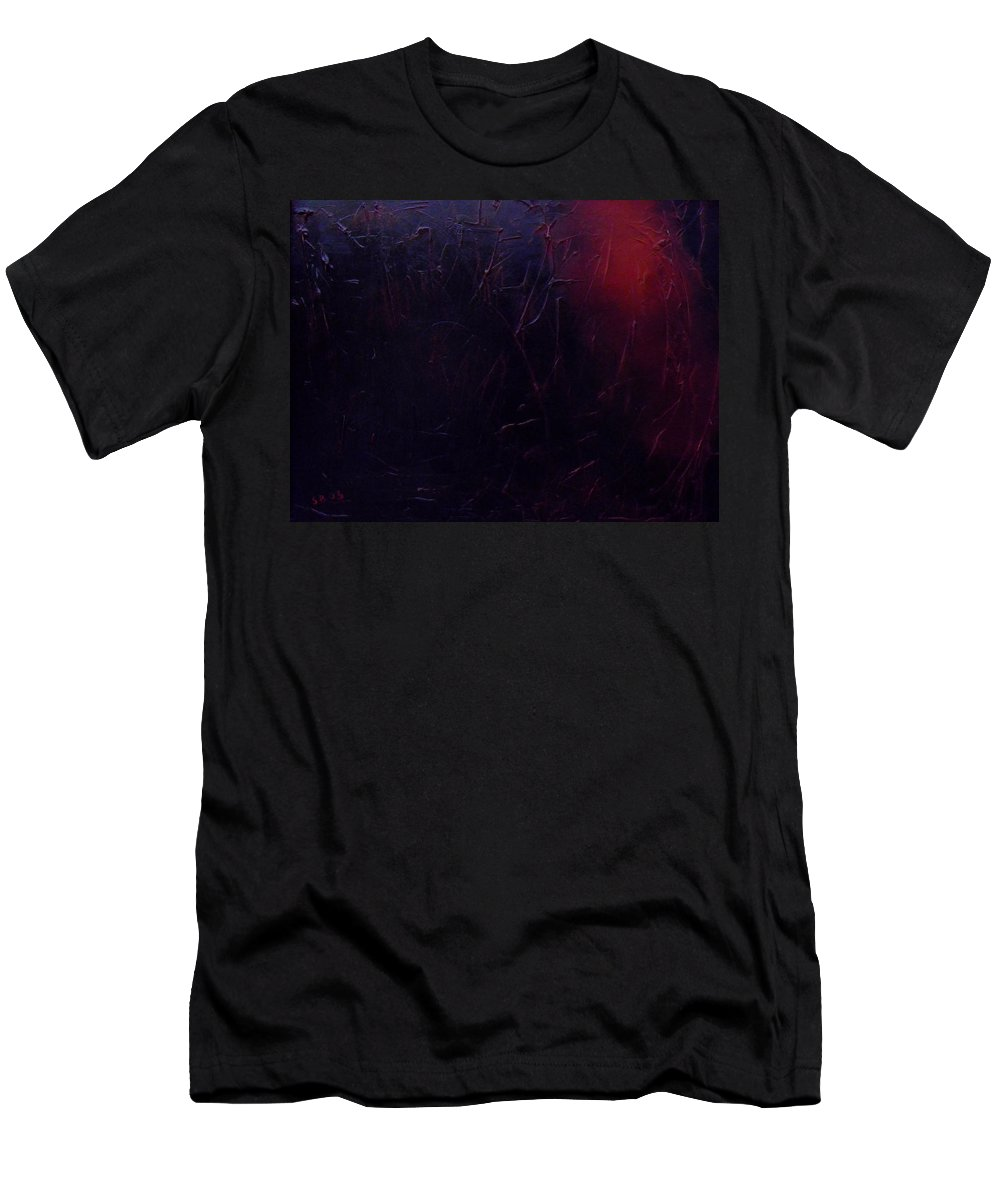 Abstract T-Shirt featuring the painting Chaos by Sergey Bezhinets