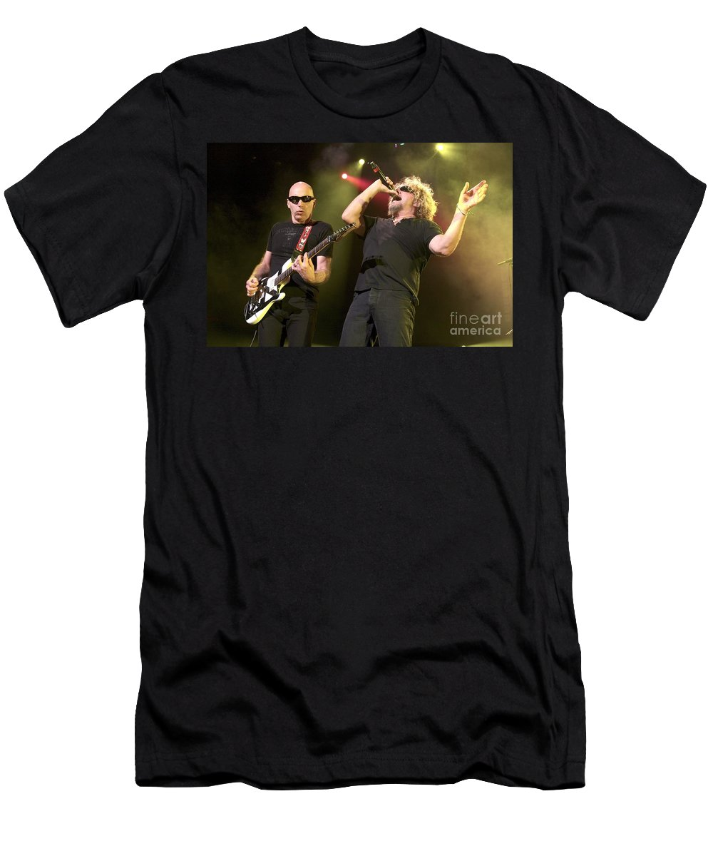 Concert T-Shirt featuring the photograph Chickenfoot by Concert Photos
