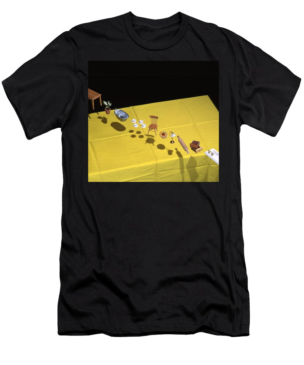 Film Men's T-Shirt (Athletic Fit) featuring the photograph Child's Play by Daniel Furon