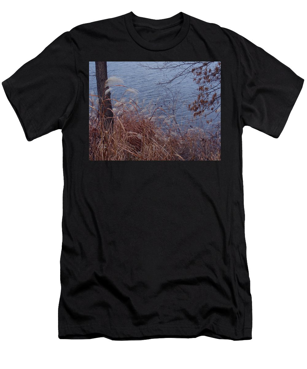 Autumn Men's T-Shirt (Athletic Fit) featuring the photograph Chill by Wild Thing