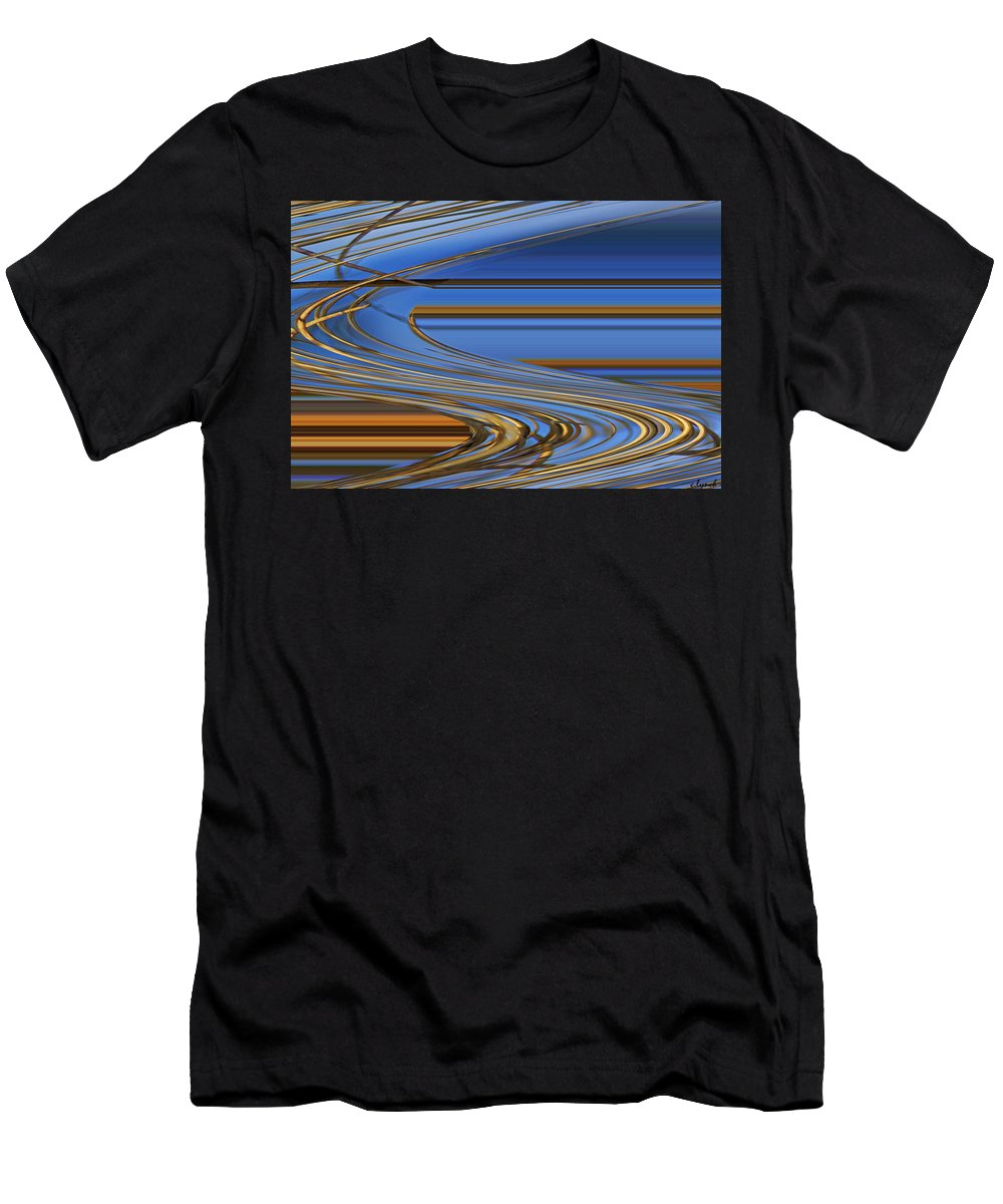 Chocolate Men's T-Shirt (Athletic Fit) featuring the digital art Chocolate by Carol Lynch