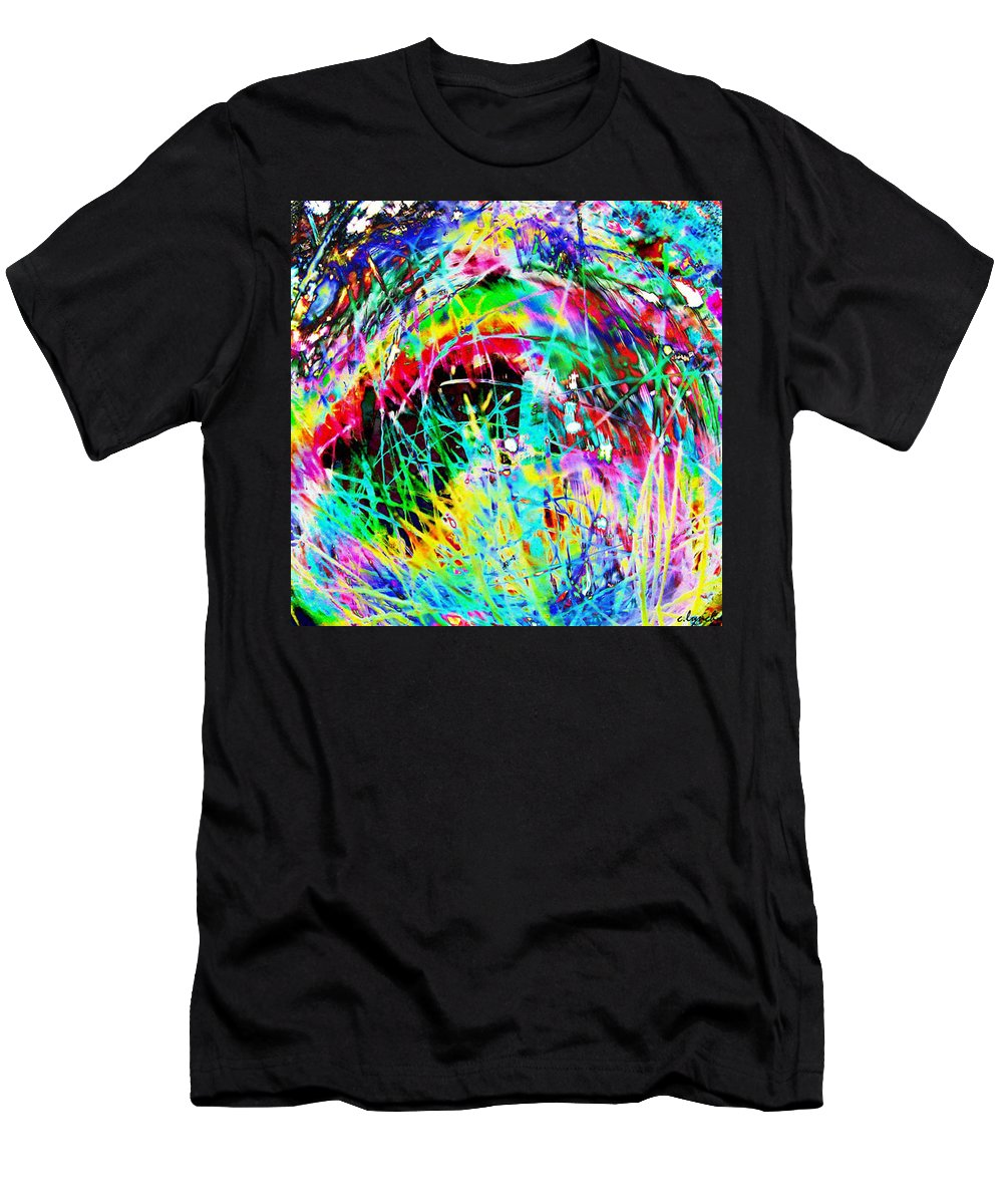 Christmas Men's T-Shirt (Athletic Fit) featuring the digital art Christmas by Carol Lynch
