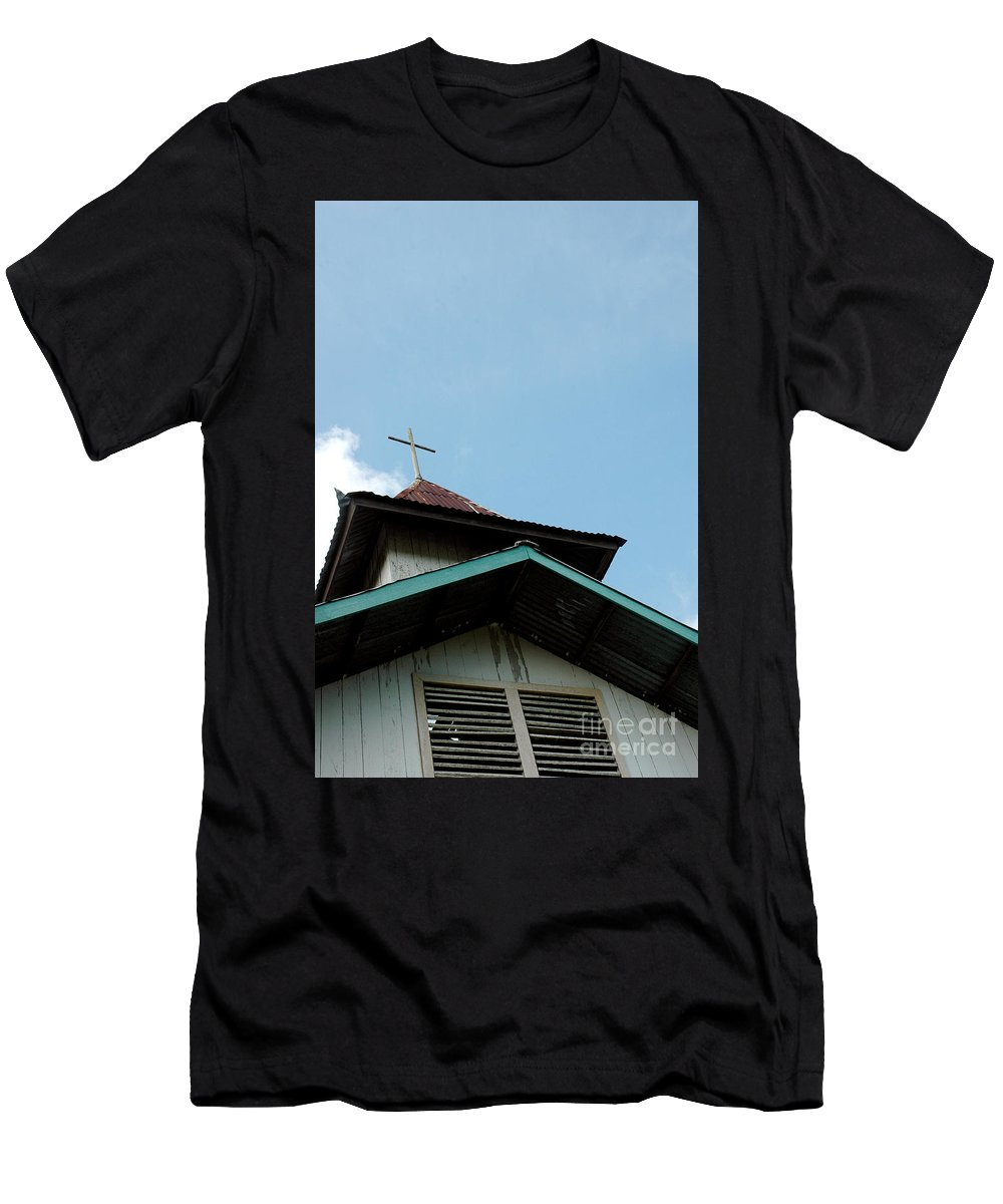 Church Men's T-Shirt (Athletic Fit) featuring the photograph Church by Antoni Halim