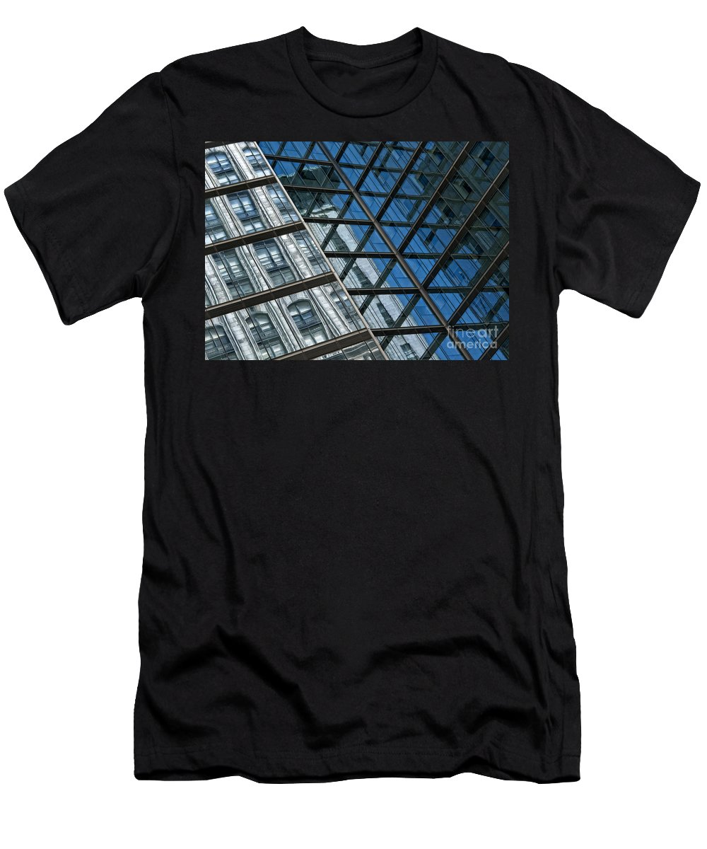 Architecture Men's T-Shirt (Athletic Fit) featuring the photograph City Combo by Claudia Kuhn