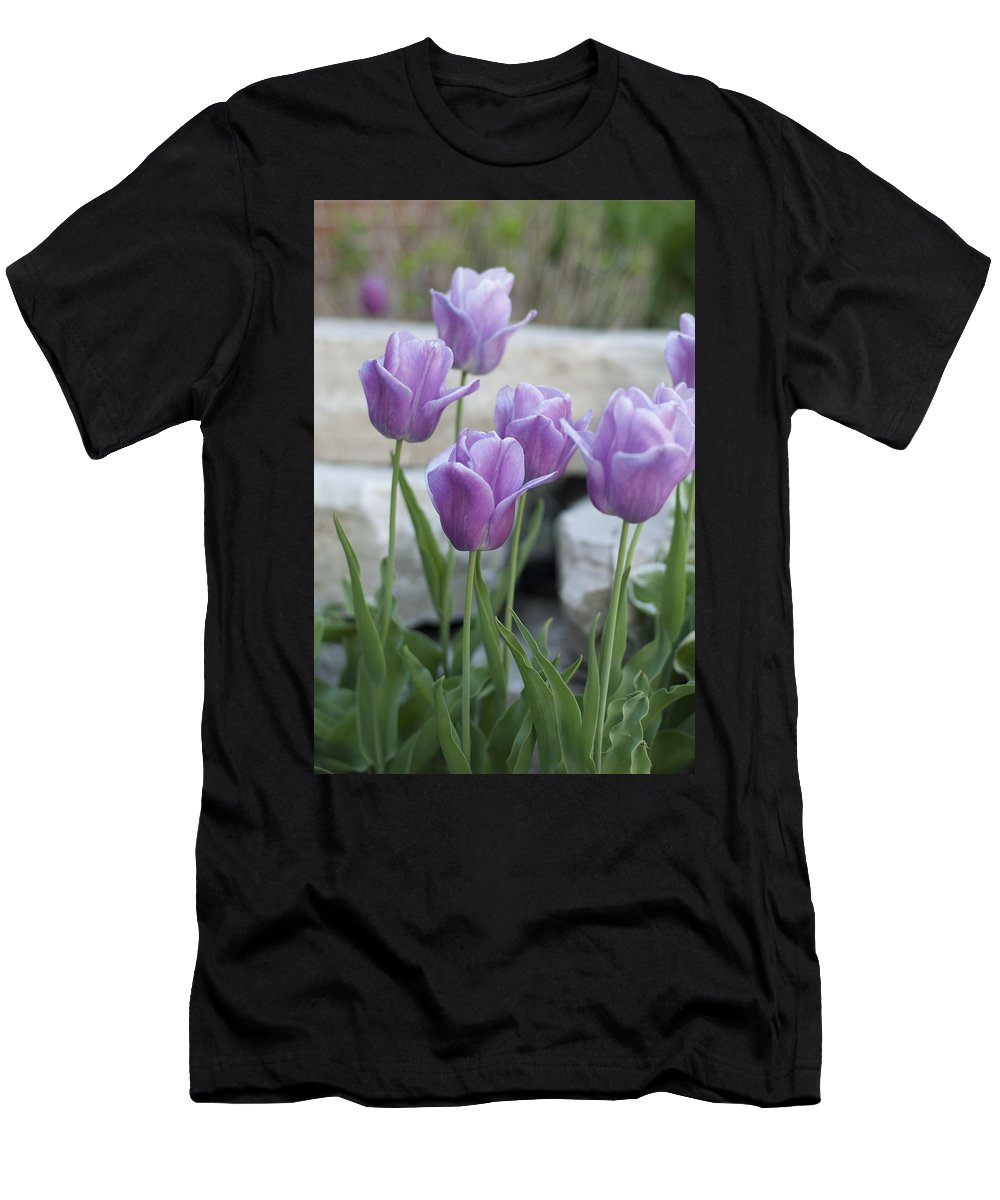 Flowers Men's T-Shirt (Athletic Fit) featuring the photograph City Dreams by Miguel Winterpacht