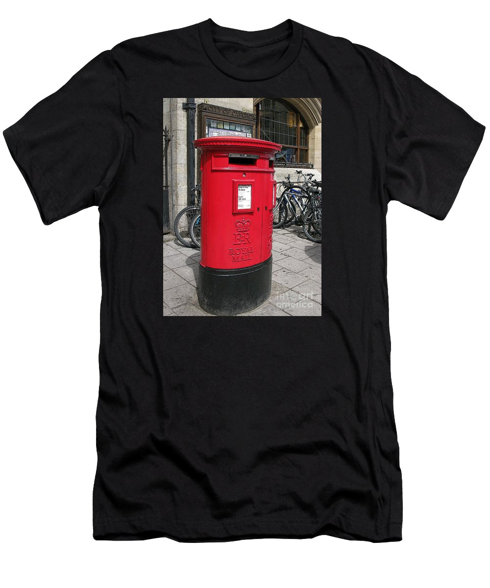 Oxford Men's T-Shirt (Athletic Fit) featuring the photograph City Of Oxford by Ann Horn