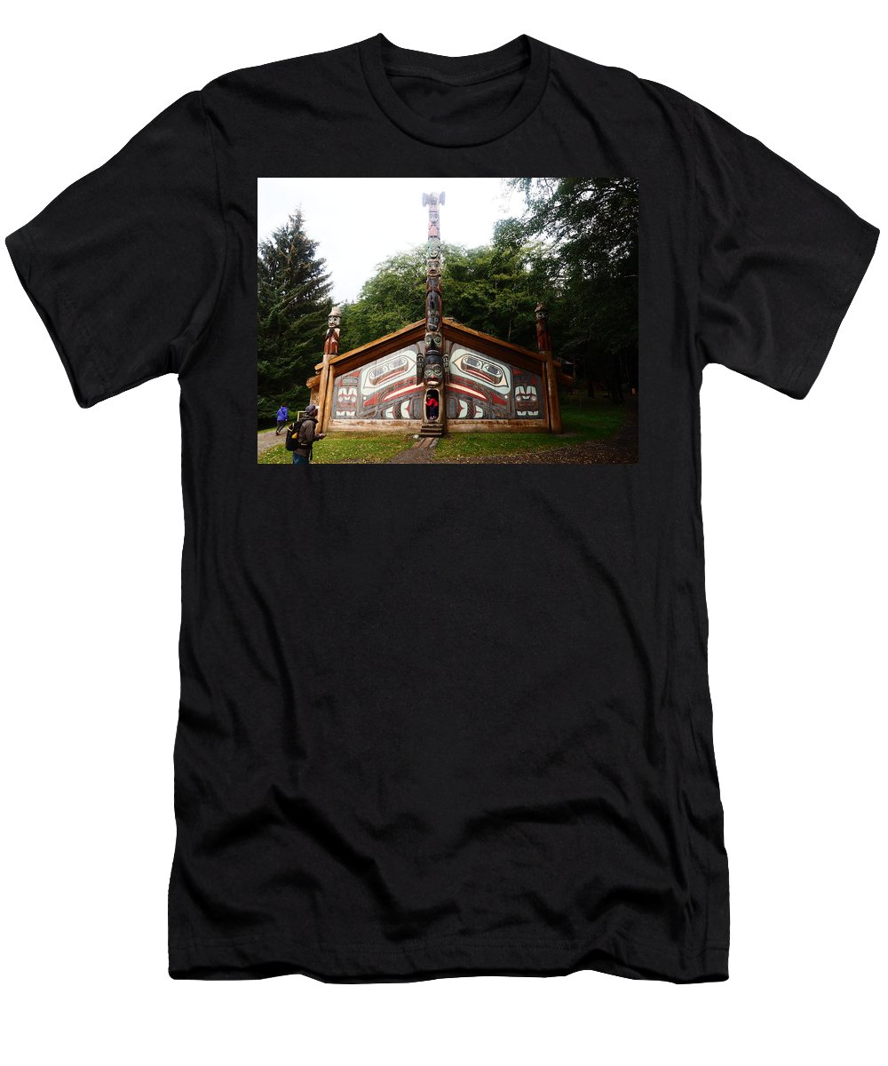 Men's T-Shirt (Athletic Fit) featuring the photograph Clan House by Mark Ball