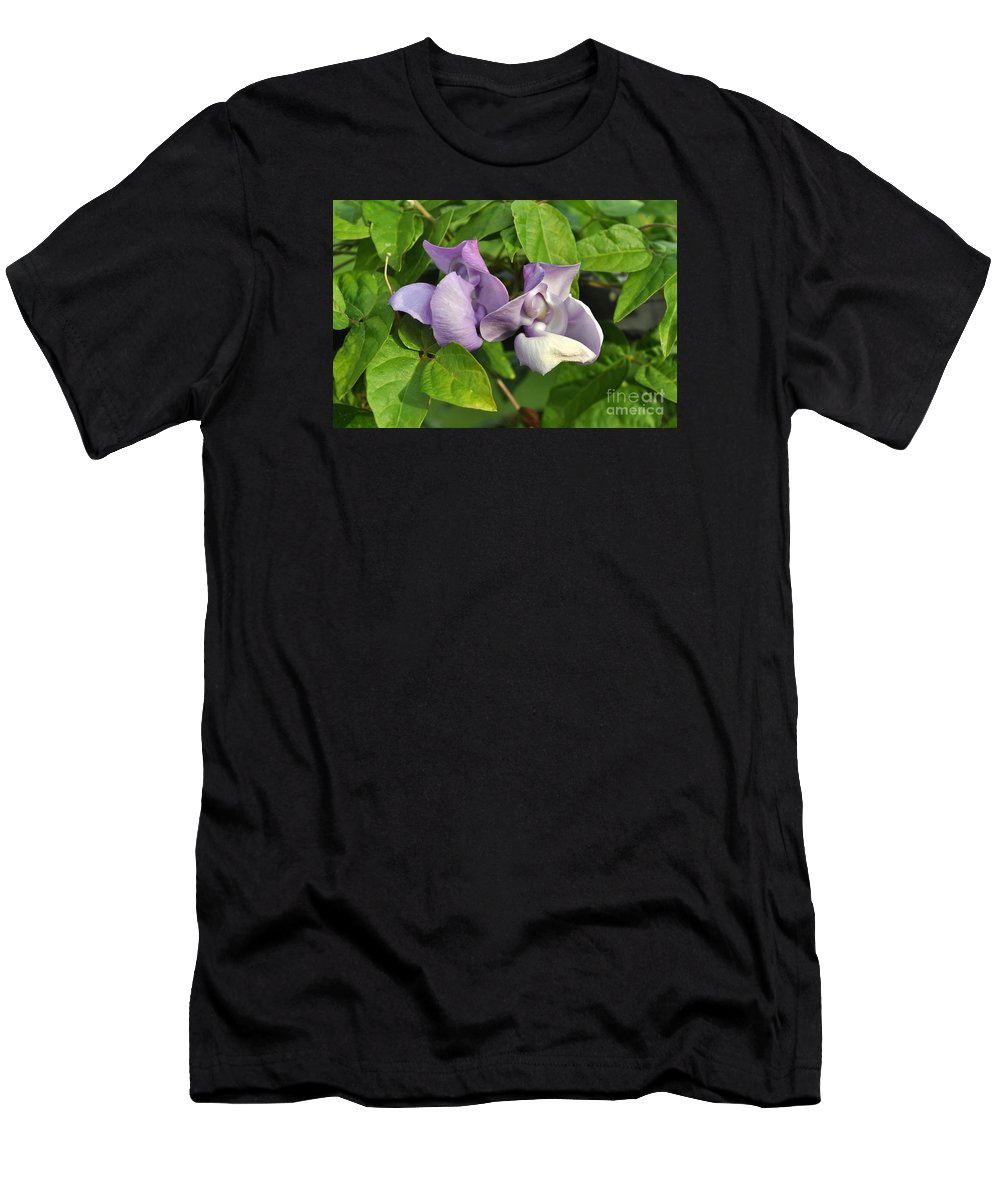 Snail Plant Men's T-Shirt (Athletic Fit) featuring the photograph Close But No Cigars by Jay Milo