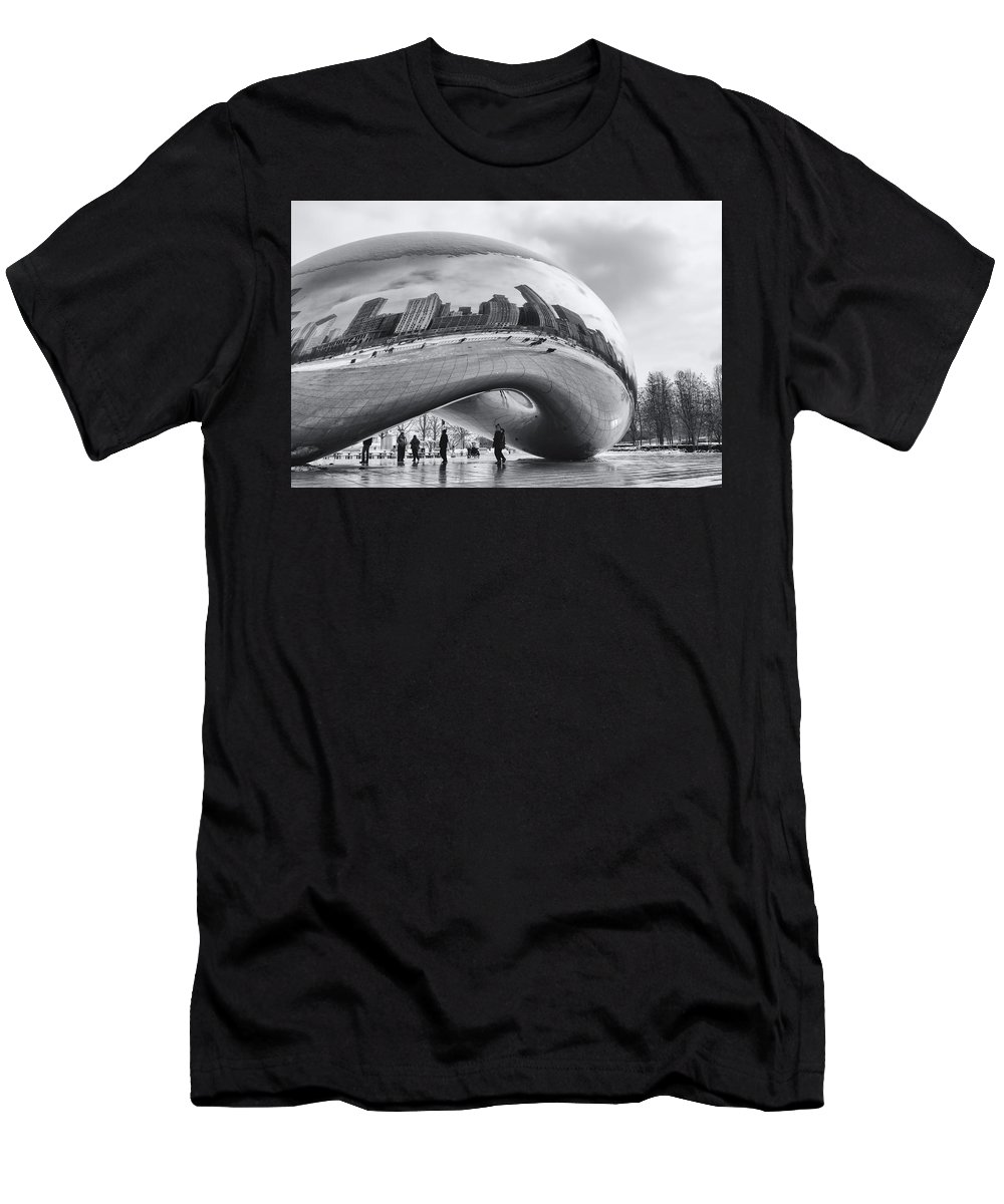 Cloud Men's T-Shirt (Athletic Fit) featuring the photograph Cloud Gate by Jayme Spoolstra