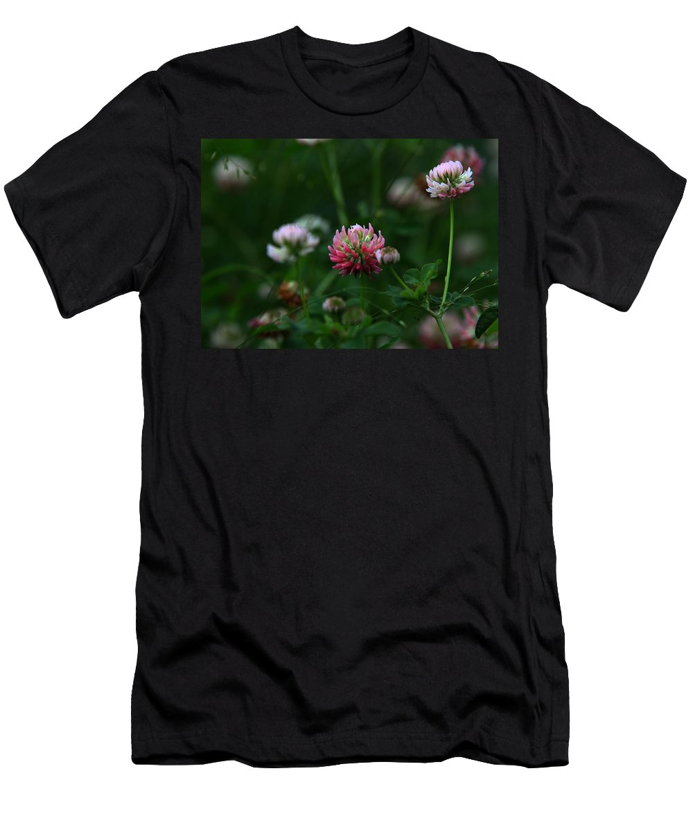 Clover Men's T-Shirt (Athletic Fit) featuring the photograph Clover by Dee Carpenter