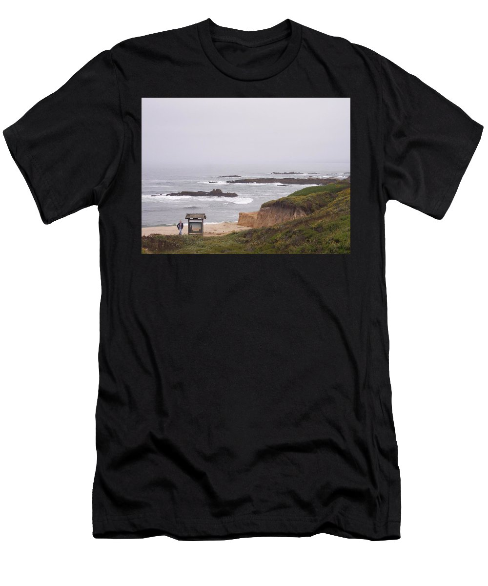Coast Men's T-Shirt (Athletic Fit) featuring the photograph Coastal Scene 7 by Pharris Art