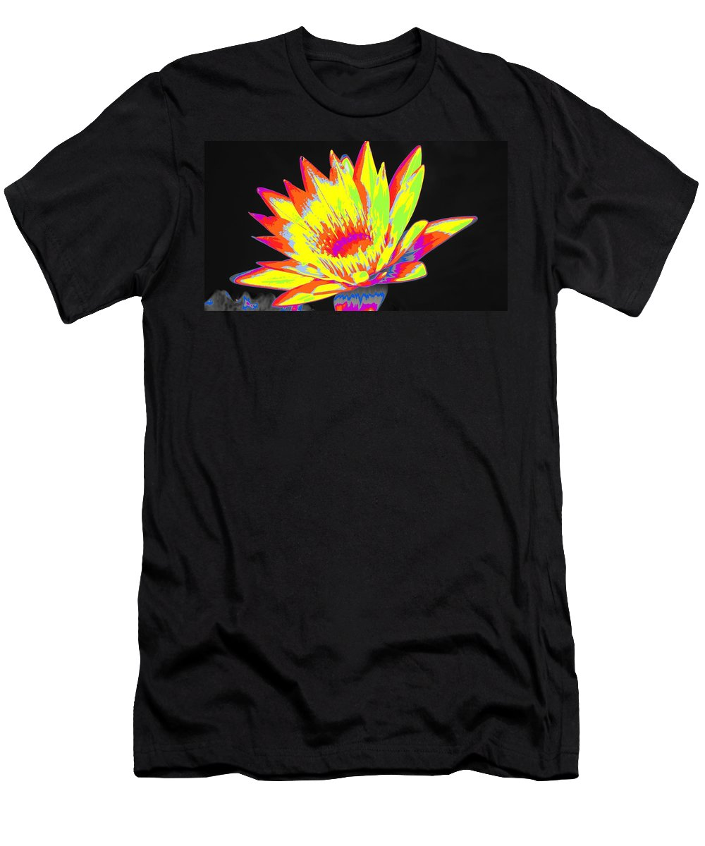 Water Men's T-Shirt (Athletic Fit) featuring the photograph Color Blasted by Rob Luzier