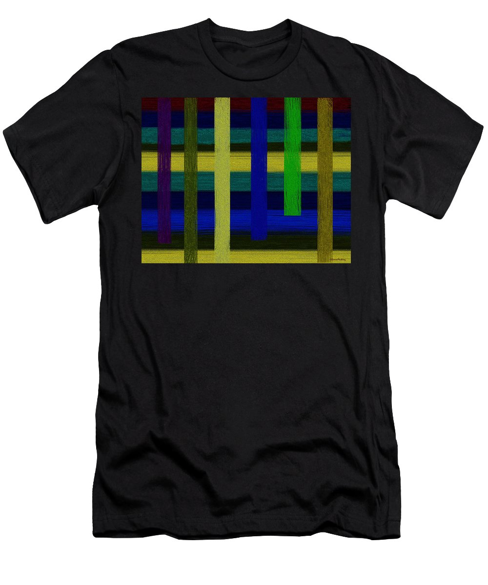 Colors Men's T-Shirt (Athletic Fit) featuring the digital art Colors I by Ramon Martinez