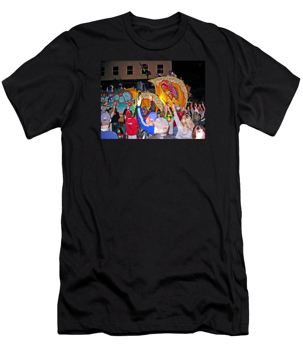 Mardi Gras Mobile Alabama Men's T-Shirt (Athletic Fit) featuring the photograph Conde Cavaliers Beer Thirty by Marian Bell