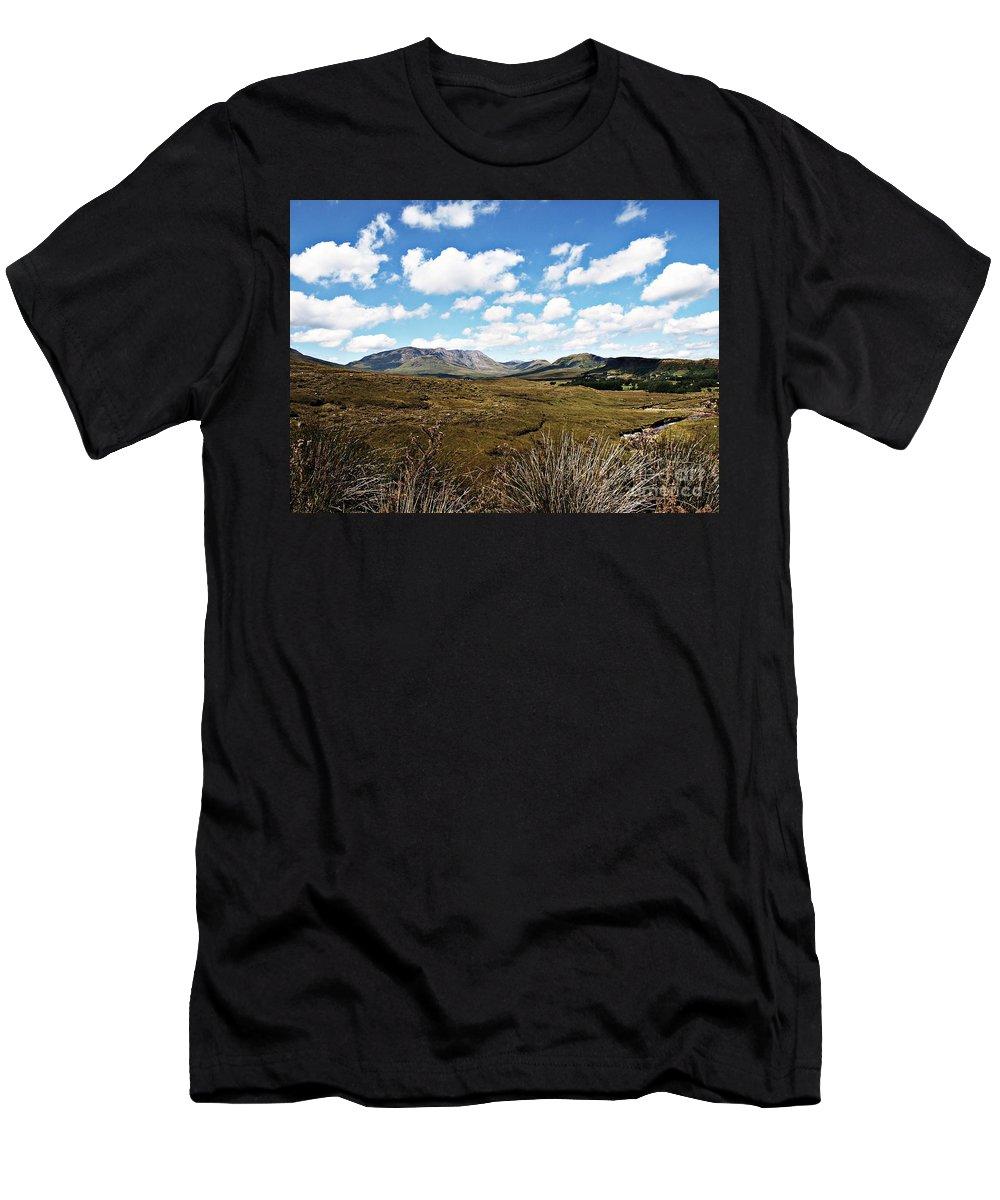 Connemara Men's T-Shirt (Athletic Fit) featuring the photograph Connemara by Eamonn Hogan