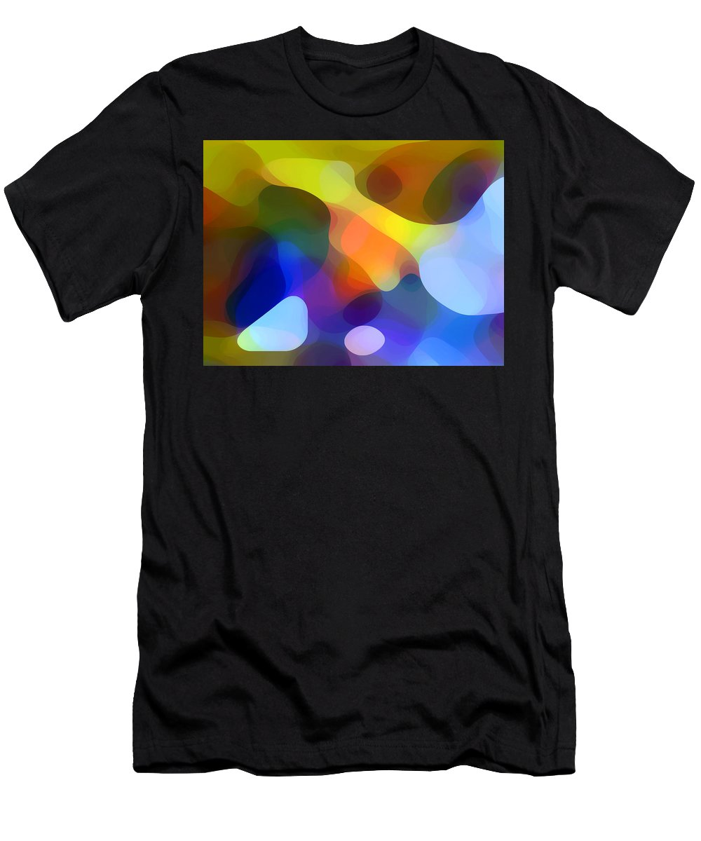 Bold Men's T-Shirt (Athletic Fit) featuring the painting Cool Dappled Light by Amy Vangsgard