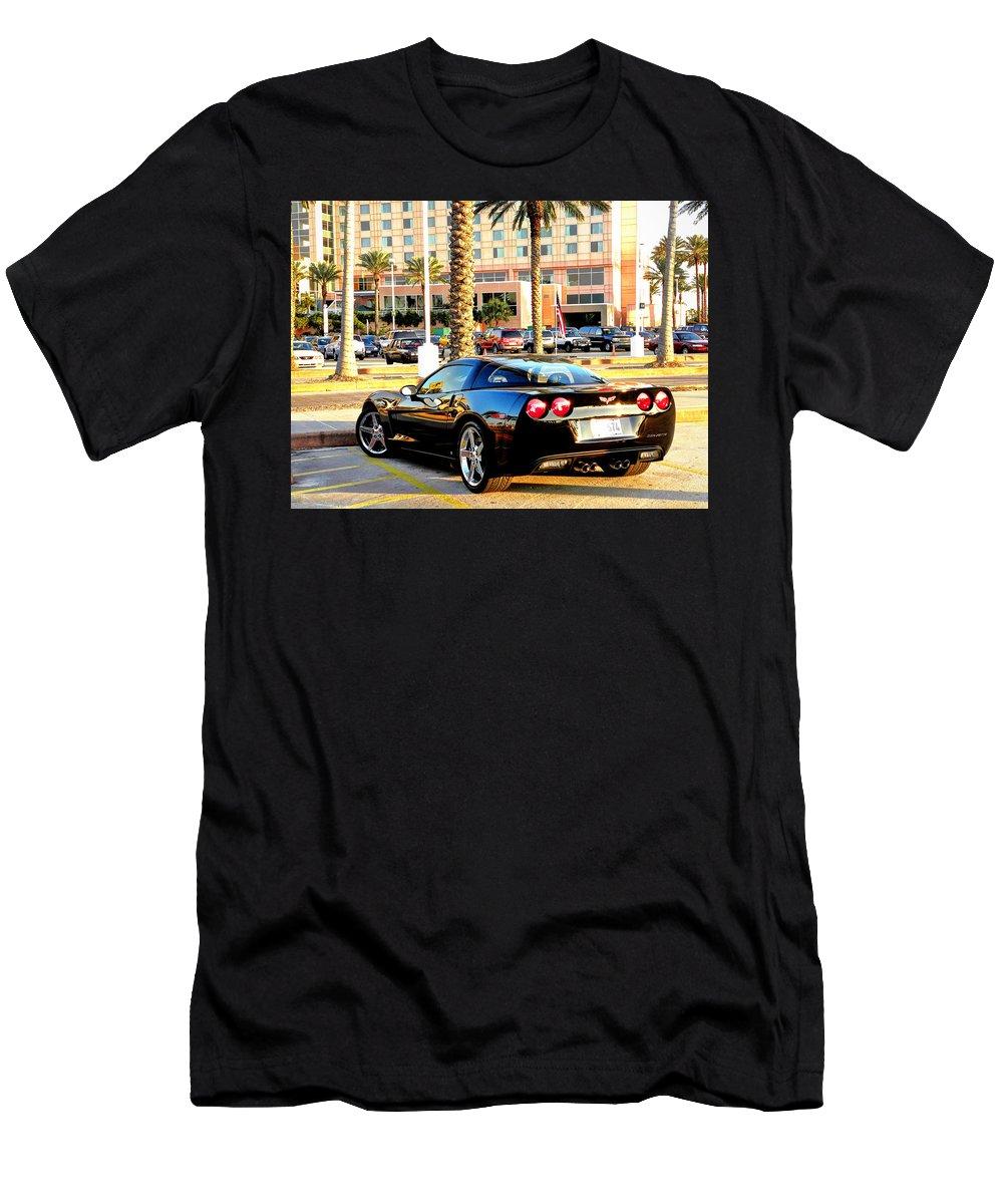 Corvet Men's T-Shirt (Athletic Fit) featuring the photograph Corvet by Savannah Gibbs