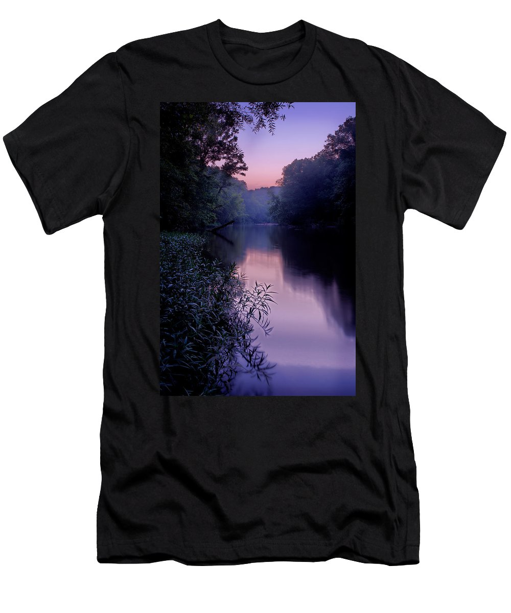 2011 Men's T-Shirt (Athletic Fit) featuring the photograph Coutois Creek by Robert Charity