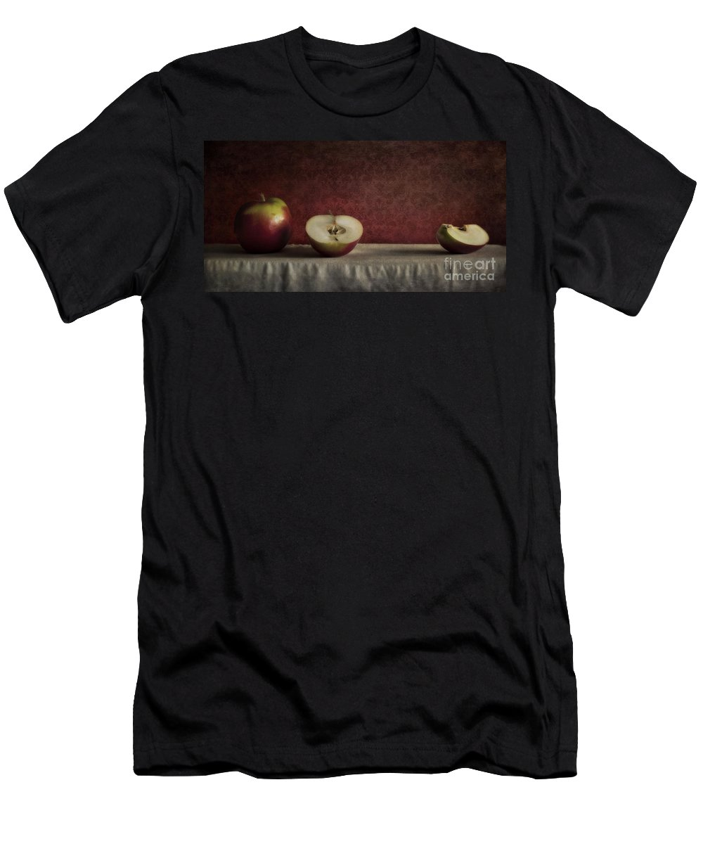 Cutted Men's T-Shirt (Athletic Fit) featuring the photograph Cox Orange Apples by Priska Wettstein