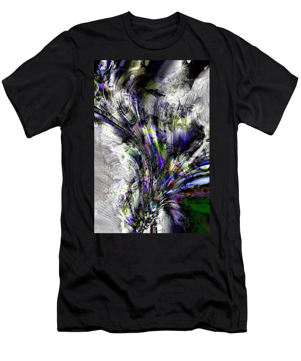 Abstract Men's T-Shirt (Athletic Fit) featuring the photograph Creative Flow by Richard Thomas