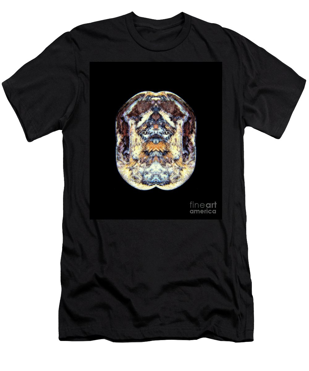 Men's T-Shirt (Athletic Fit) featuring the photograph Crested Goose Fighter by James Christiansen