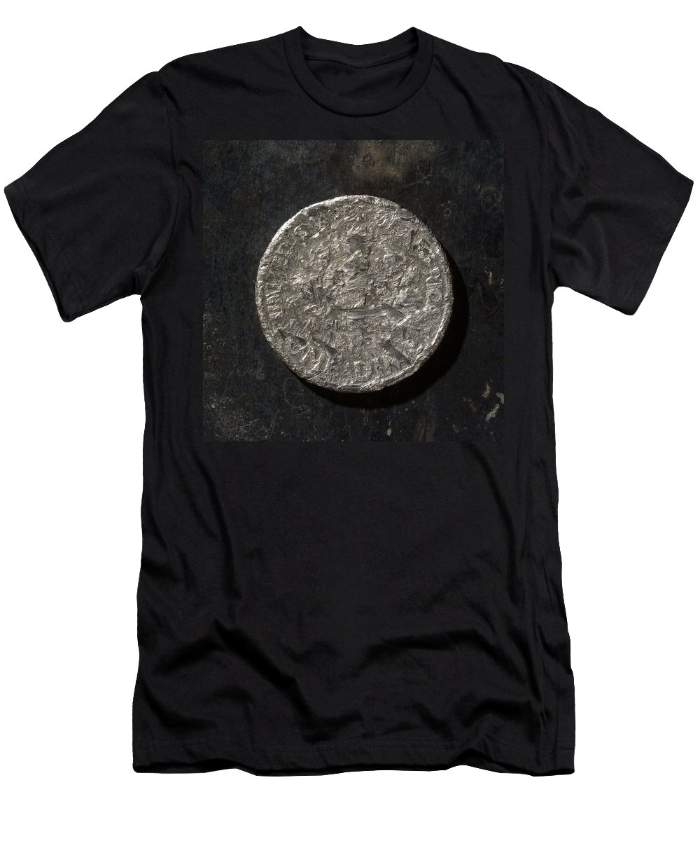 Americana Men's T-Shirt (Athletic Fit) featuring the photograph D 1990 A T by Robert Mollett