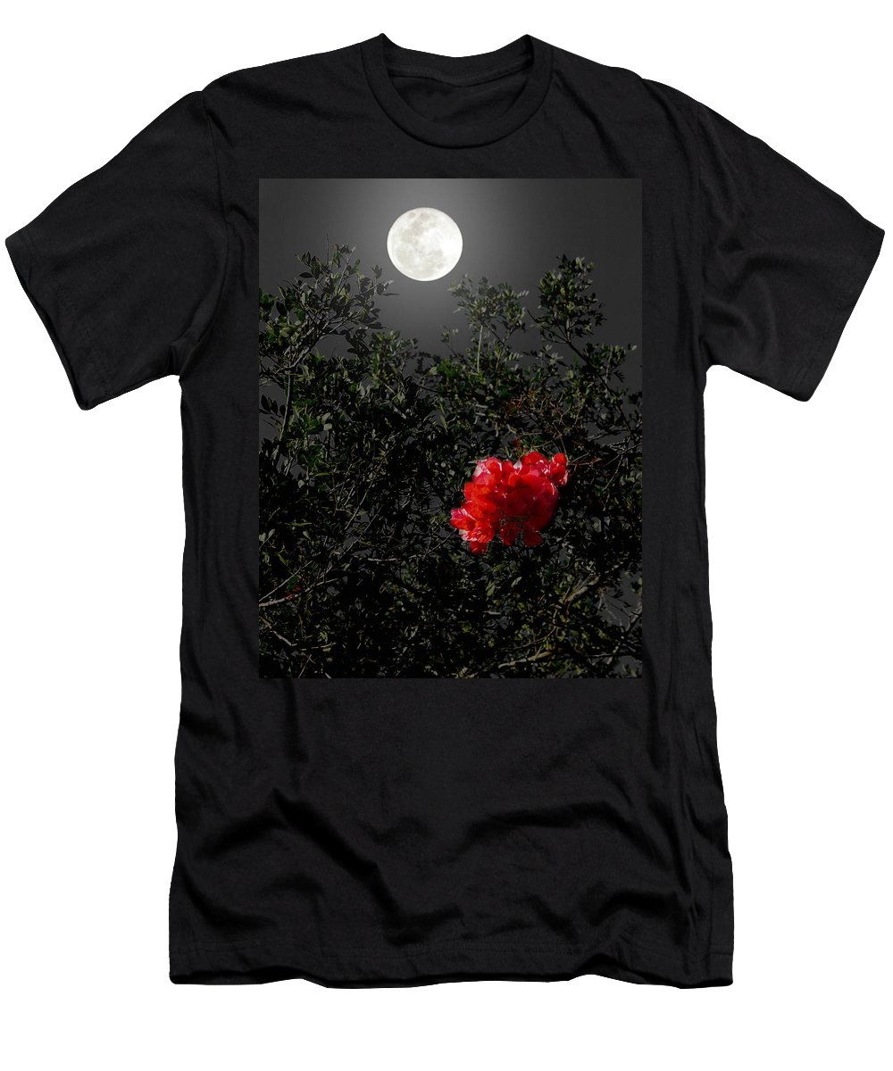 Daily Men's T-Shirt (Athletic Fit) featuring the photograph Daily Cycle 3 - Evening by Carlos Vieira