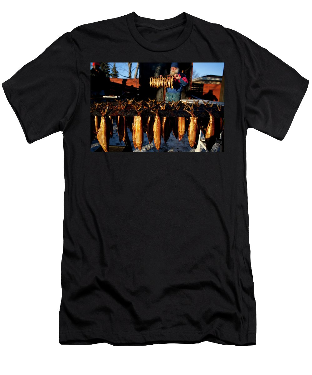 Beard Men's T-Shirt (Athletic Fit) featuring the photograph Dan Anderson by Tom Lynn