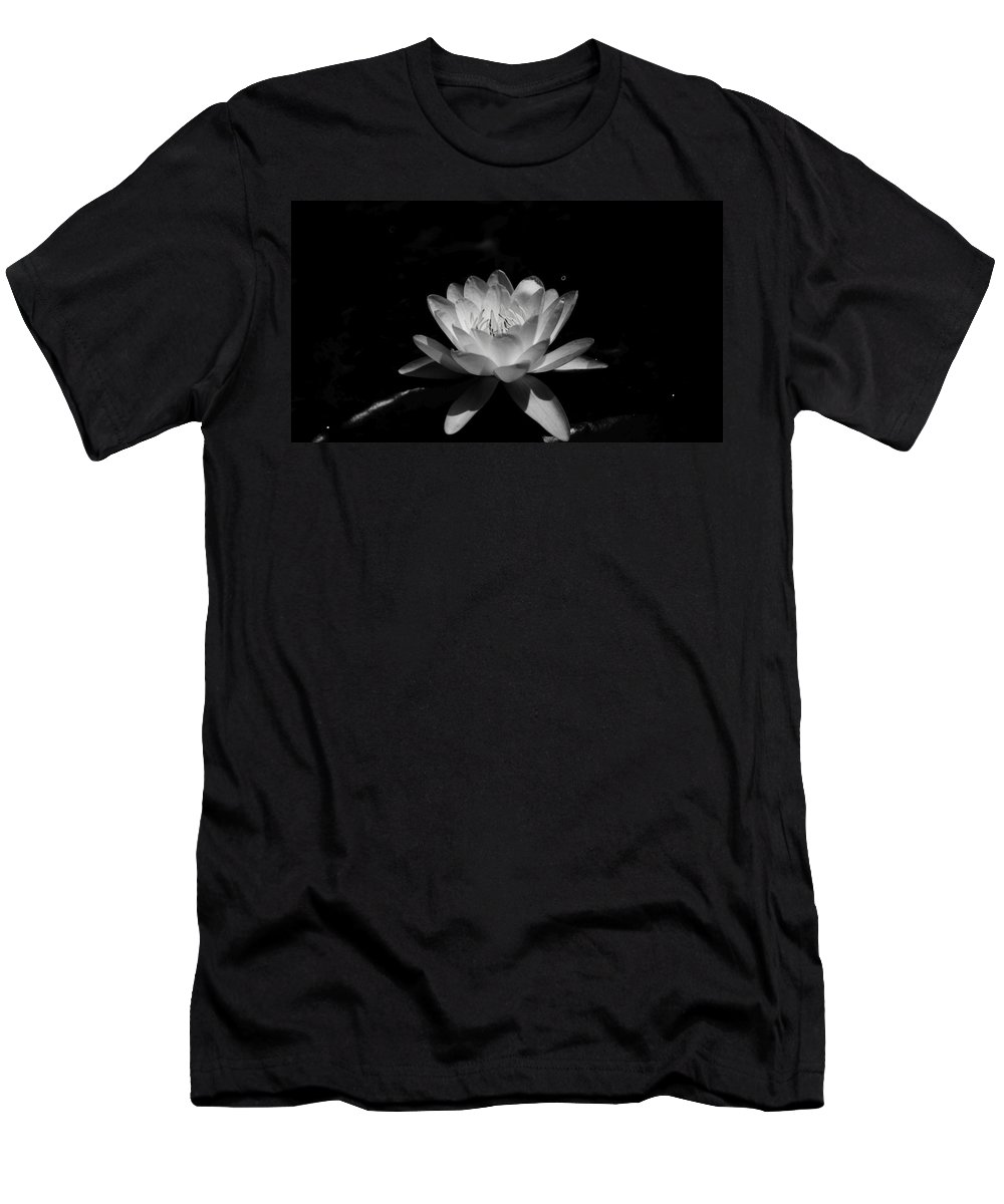 Water Men's T-Shirt (Athletic Fit) featuring the photograph Deep Shadows  # by Rob Luzier