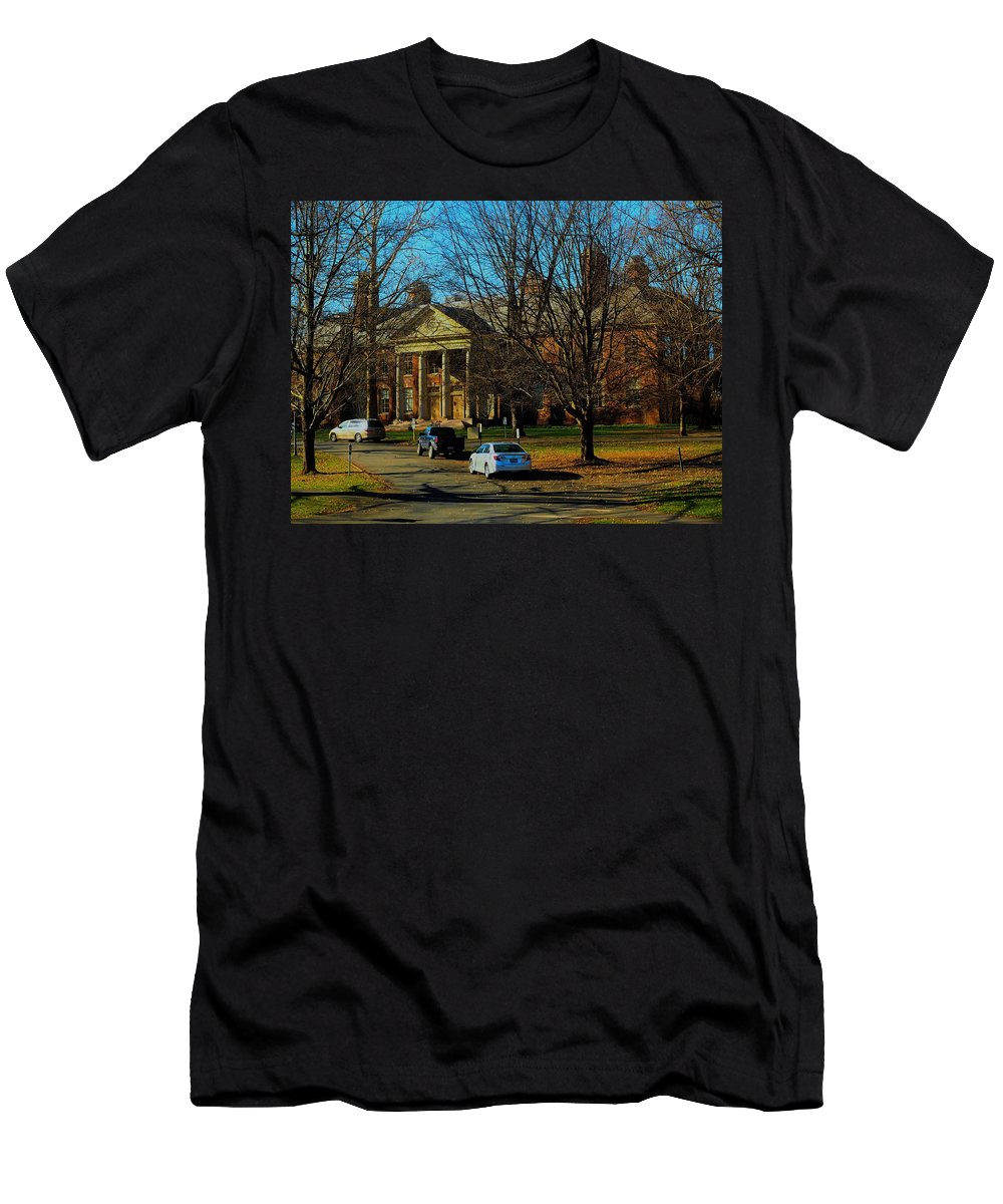 Schools Men's T-Shirt (Athletic Fit) featuring the photograph Deerfield Academy by Mark Ball