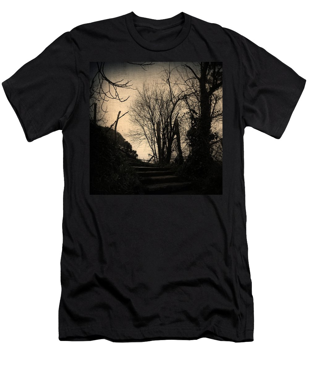 Tree Men's T-Shirt (Athletic Fit) featuring the photograph Deja Vu II by Zapista