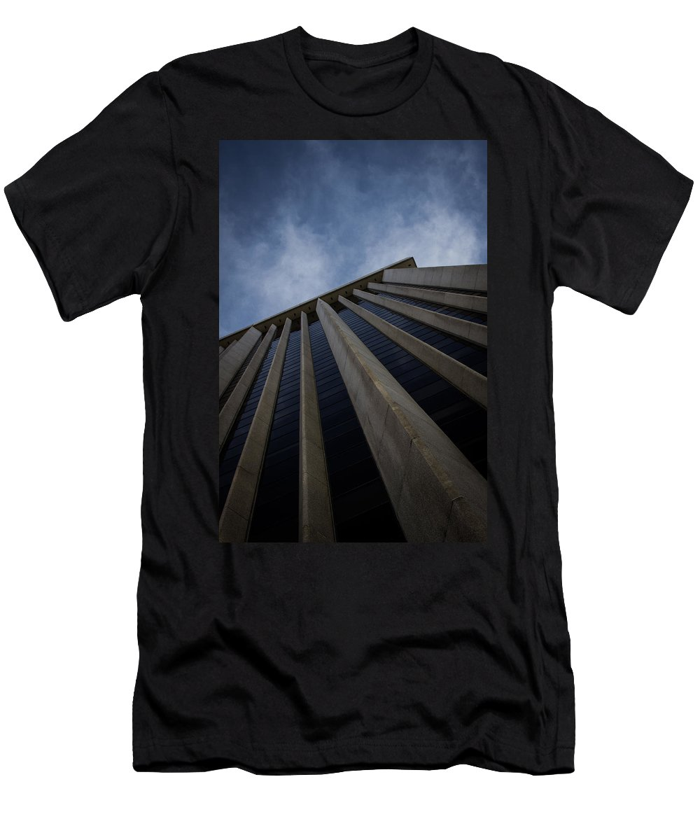Denver Men's T-Shirt (Athletic Fit) featuring the photograph Denver by Dayne Reast