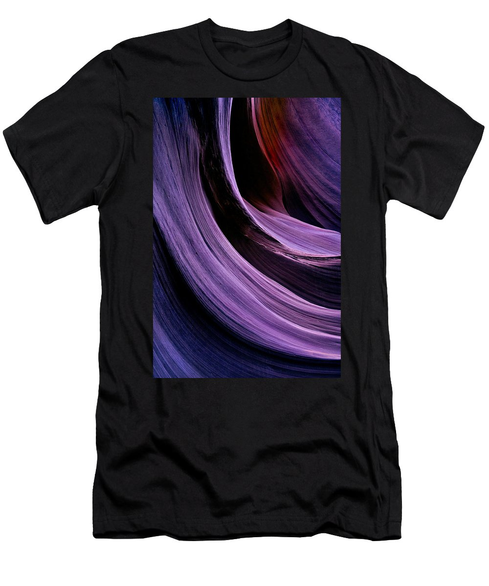 Desert Men's T-Shirt (Athletic Fit) featuring the photograph Desert Eclipse by Mike Dawson