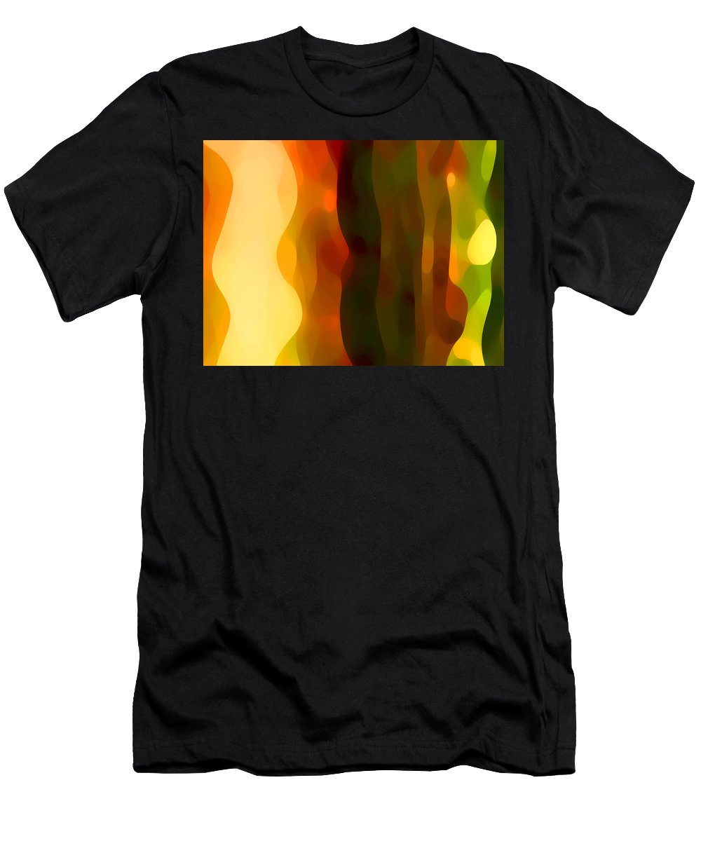 Bold Men's T-Shirt (Athletic Fit) featuring the painting Desert Pattern 1 by Amy Vangsgard