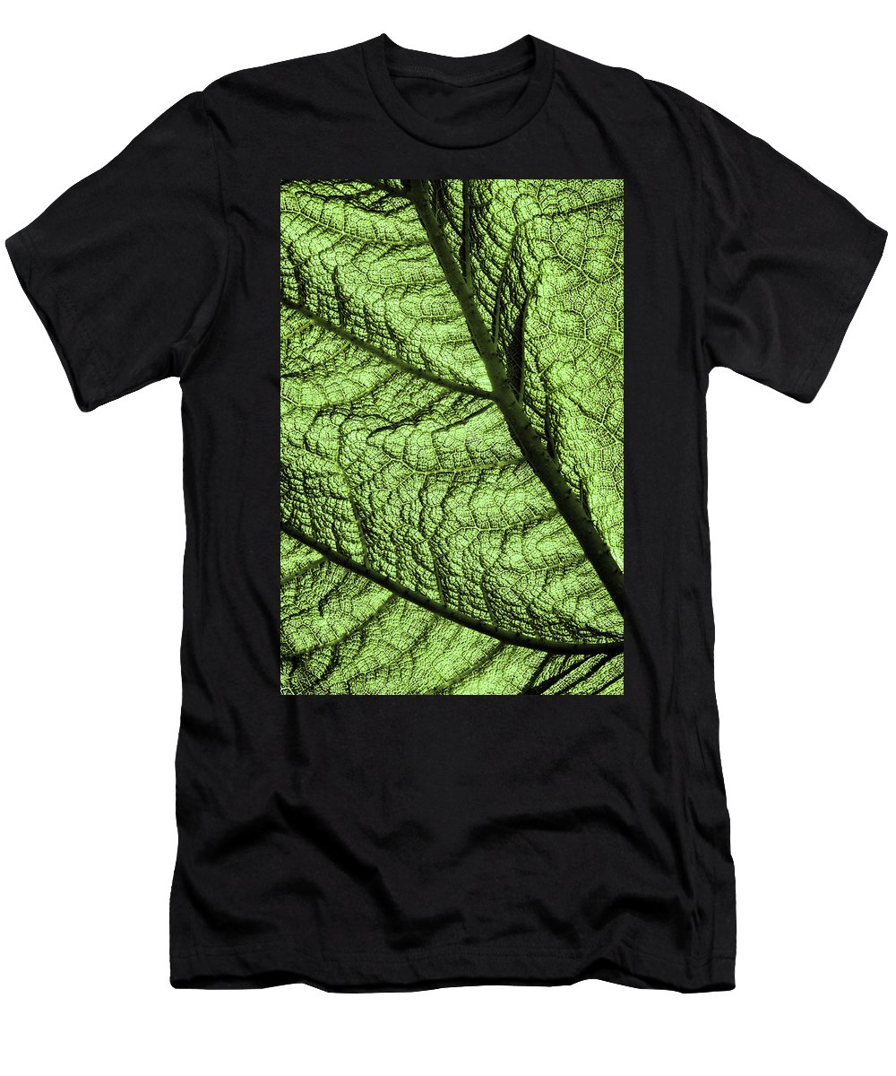 Abstract Men's T-Shirt (Athletic Fit) featuring the photograph Design In Nature by Aidan Moran