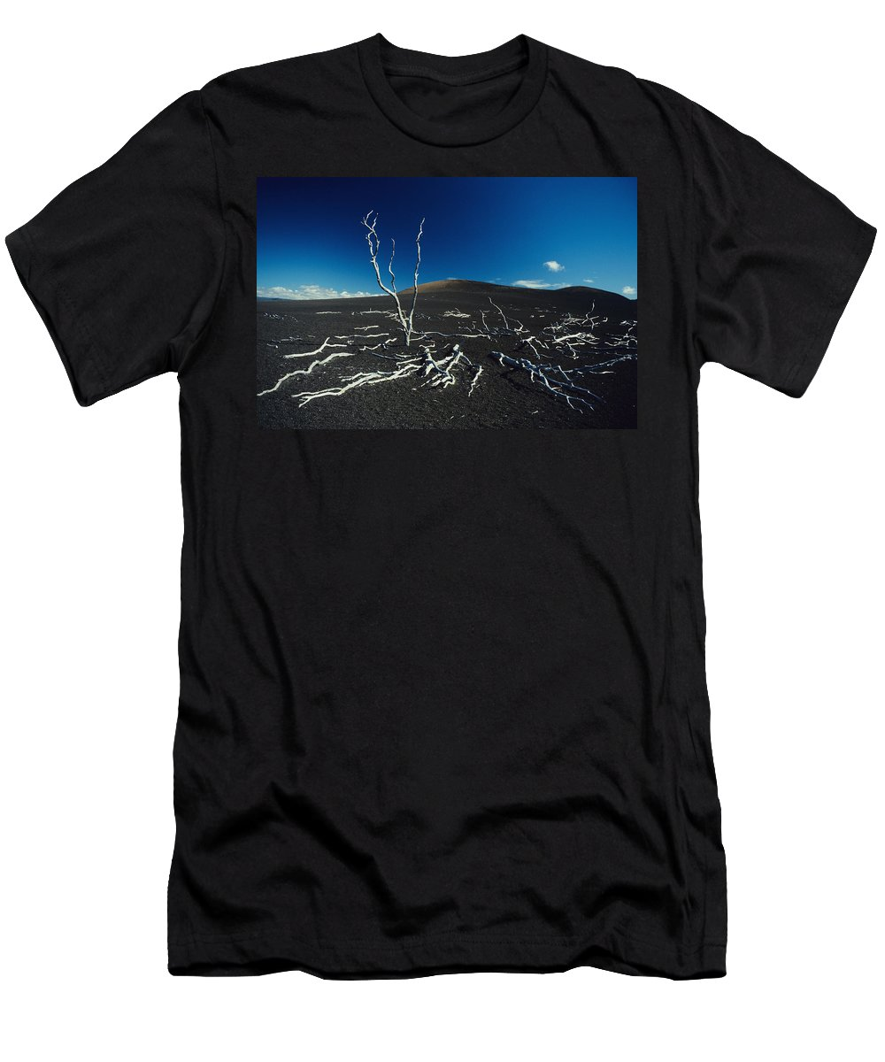 01-csm0018 Men's T-Shirt (Athletic Fit) featuring the photograph Devastation Trail by Ali ONeal - Printscapes