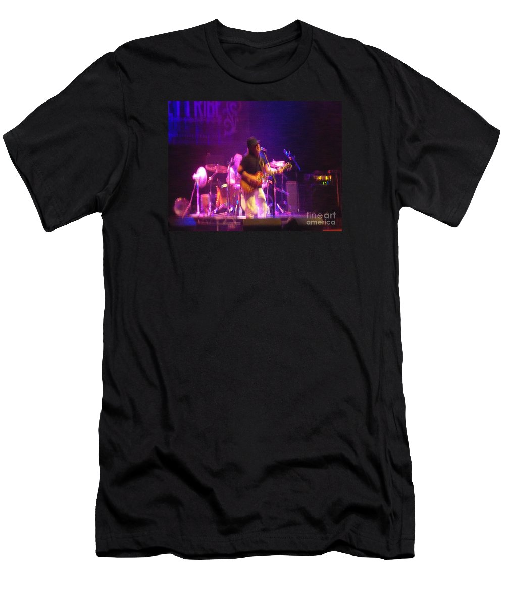Men's T-Shirt (Athletic Fit) featuring the photograph Devon Allman by Kelly Awad