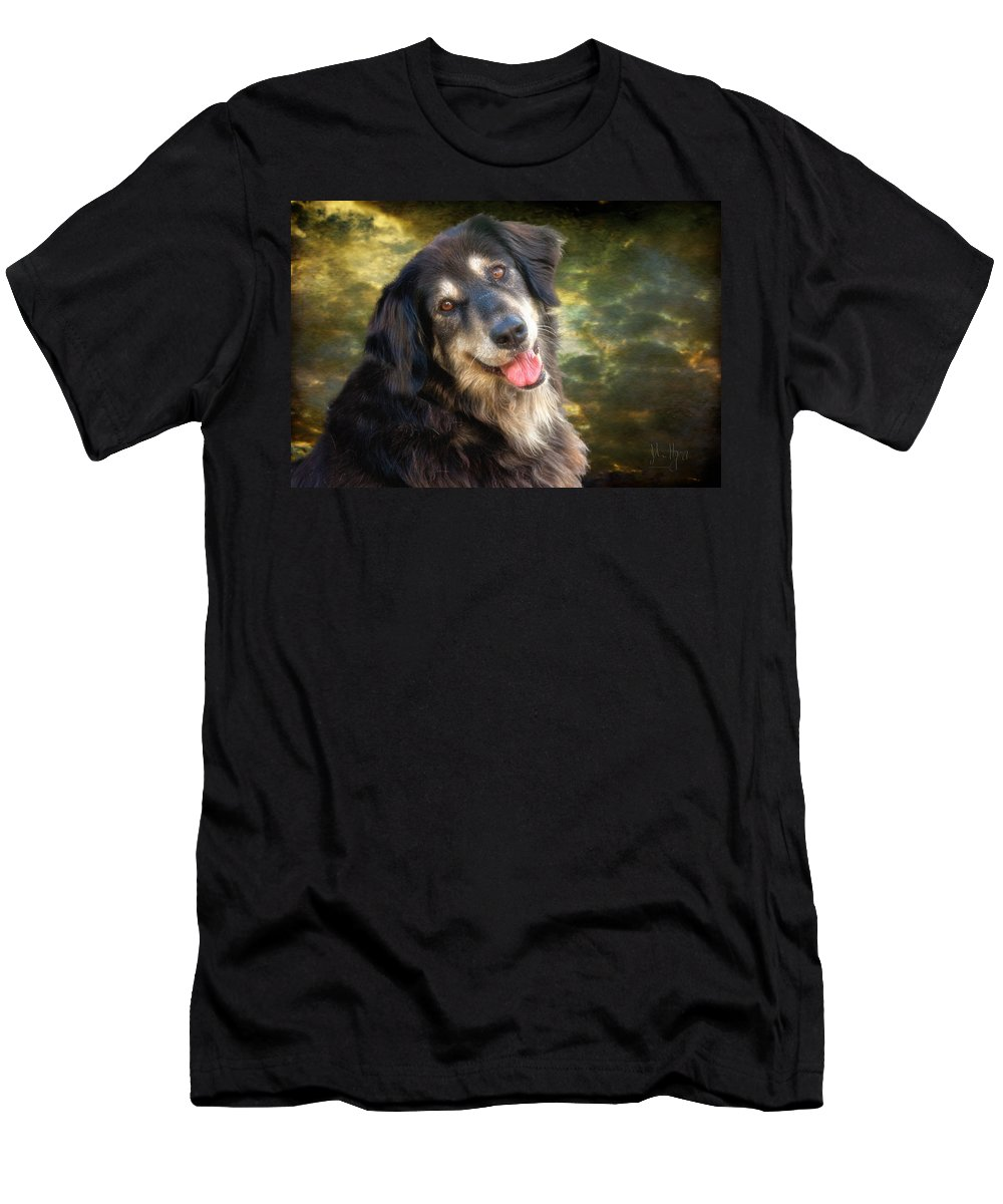 Xdop Men's T-Shirt (Athletic Fit) featuring the photograph Diamond Huge by John Herzog